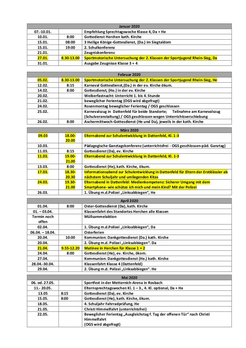 Terminplan 19-20 ElternS2