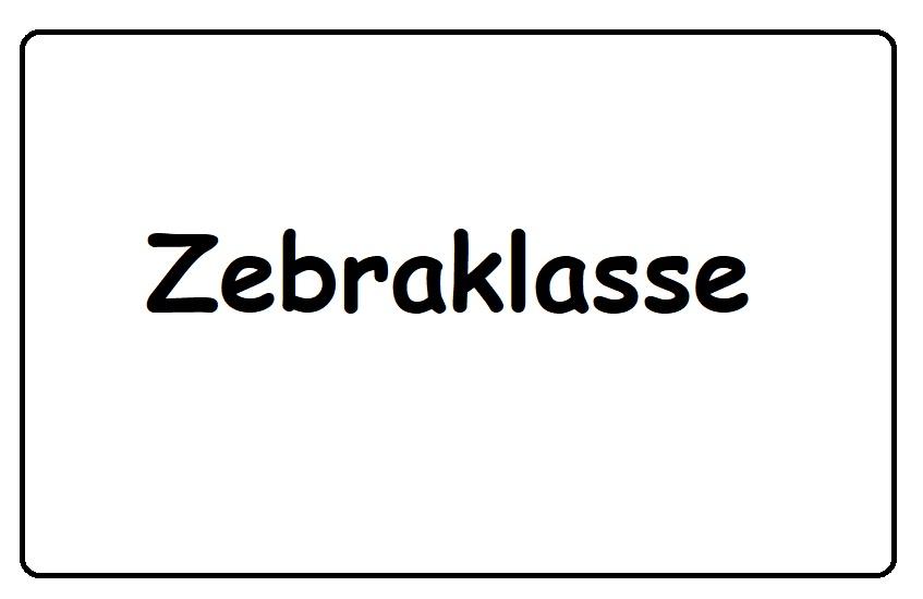 Zebraklasse